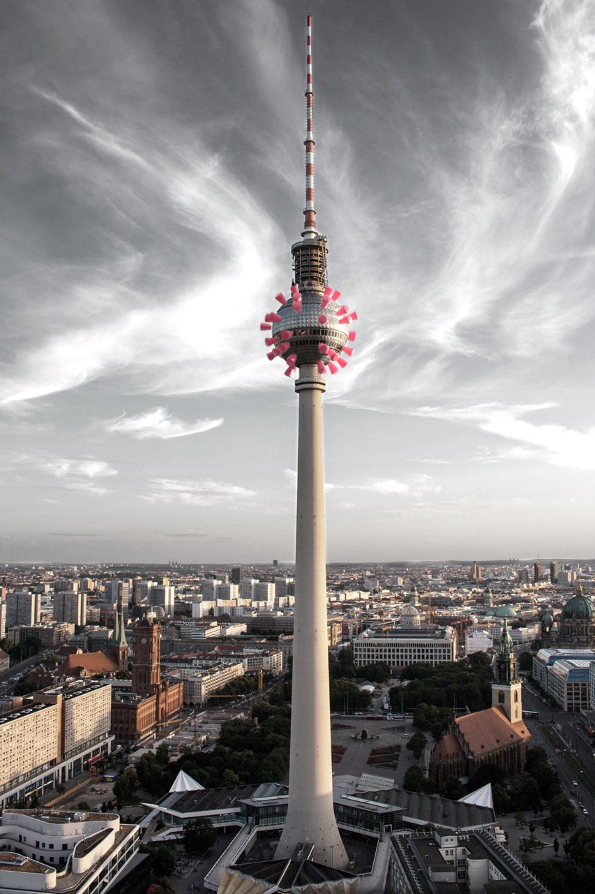 The Berlin Corona Tower