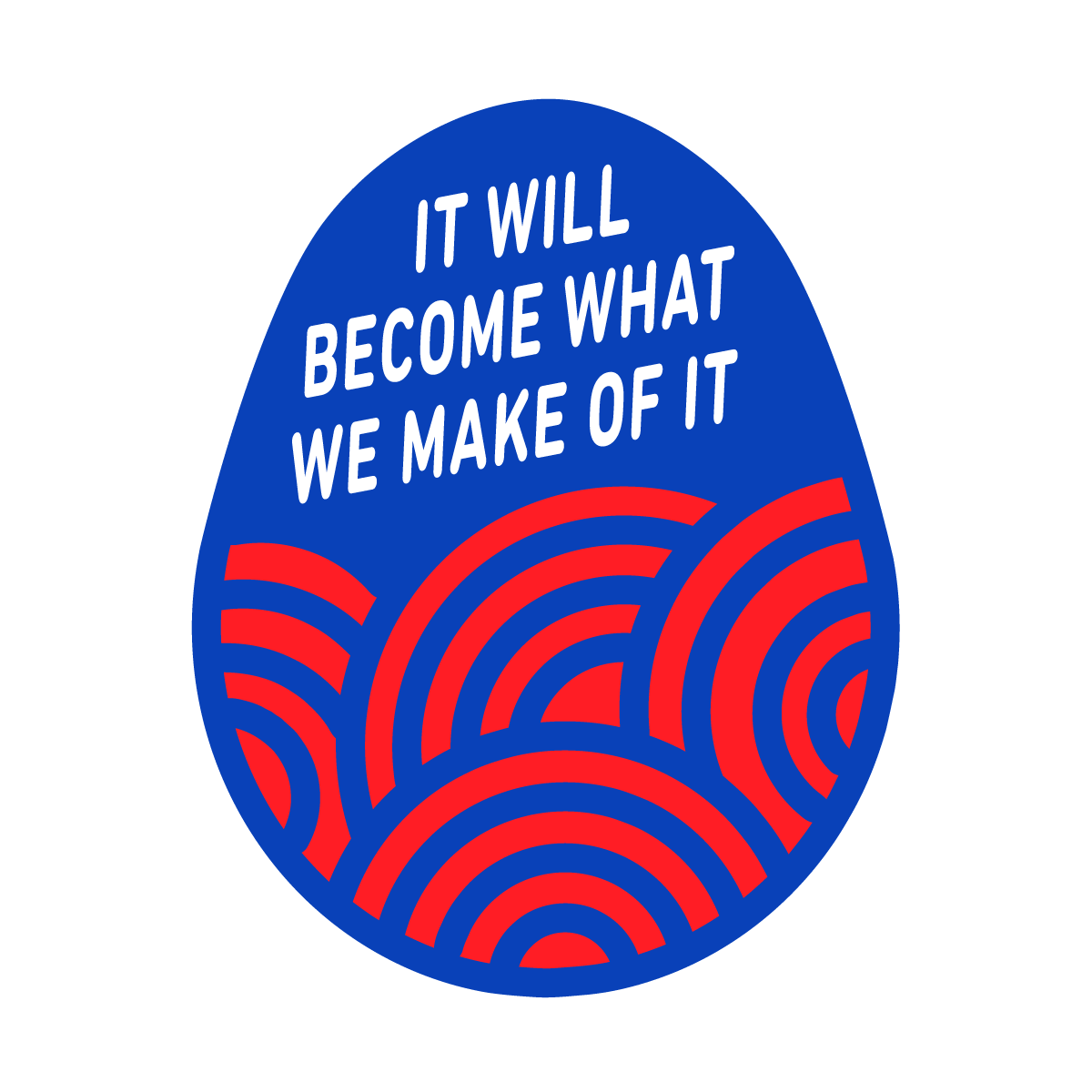 It will become what we make of it – easter egg 2020