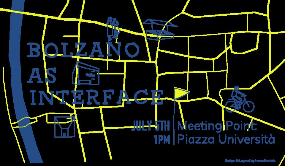 Invitation to Guided Tour »Bolzano as Interface«