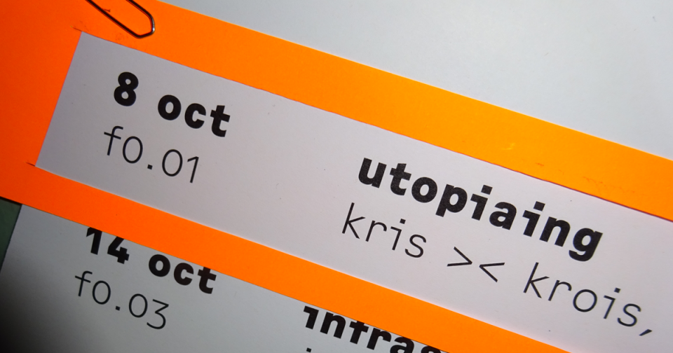 »Utopiaing« with Kris >< Krois