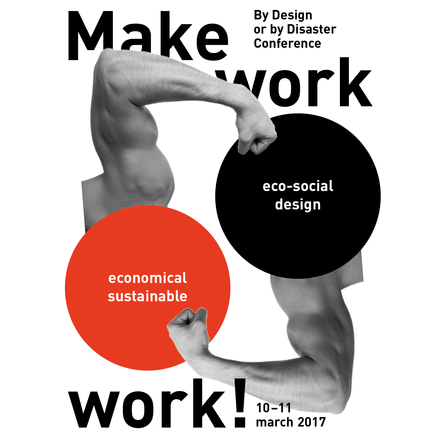 MAKE WORK WORK! By Design or by Disaster Conference, 10-11 March 2017