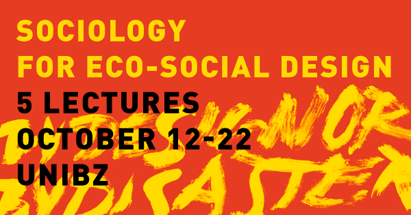 Sociology for Eco-Social Design & more