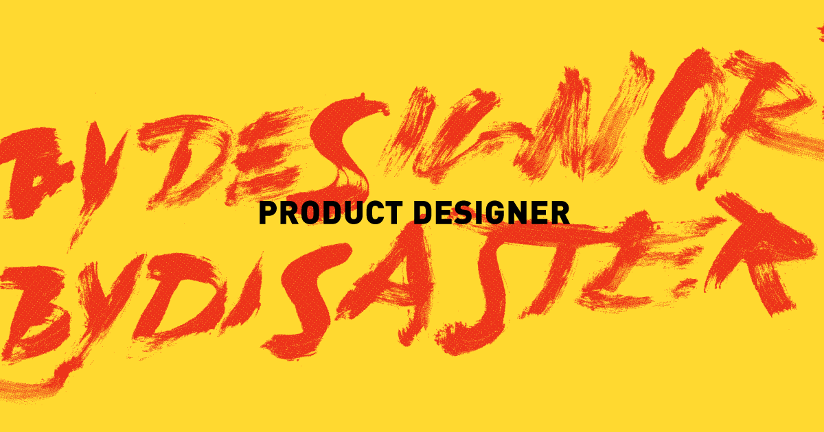 Teach Product Design in MA Eco-Social Design (closed)