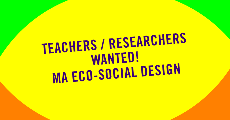 Teachers / Researchers wanted!