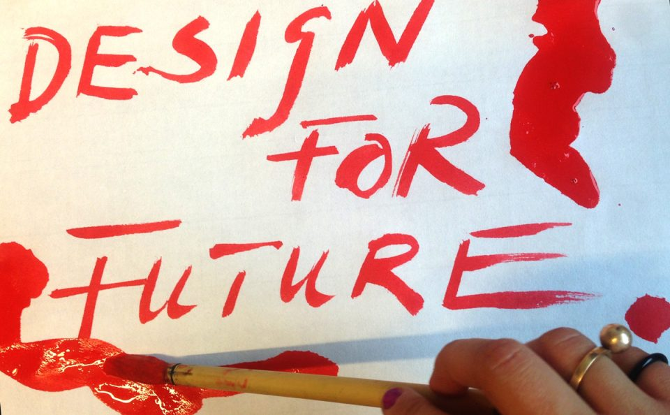 Design for Future: Making banners and props for the Global Climate Strike