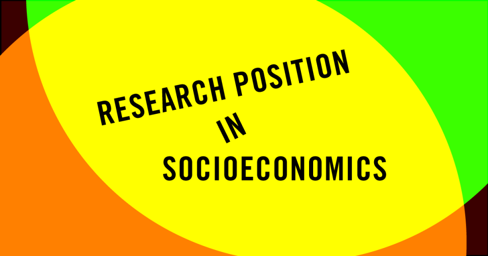 Research Position in Socioeconomics